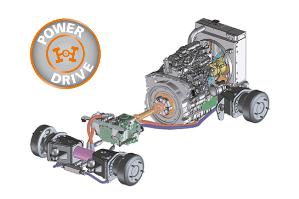 Drive train of the Holder PowerDrive